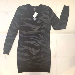 MCQ by ALEXANDER McQUEEN Zebra Print Dress Sz M
